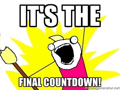 Image result for its the final countdown